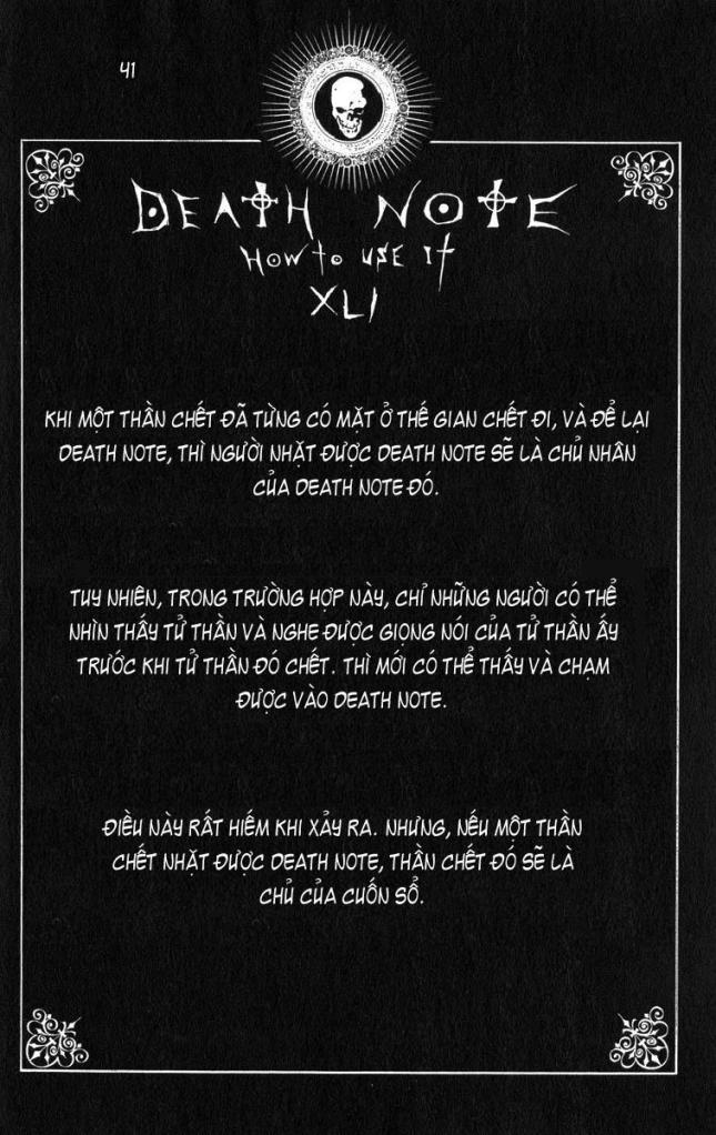 Death Note chapter 110 - how to use trang 44