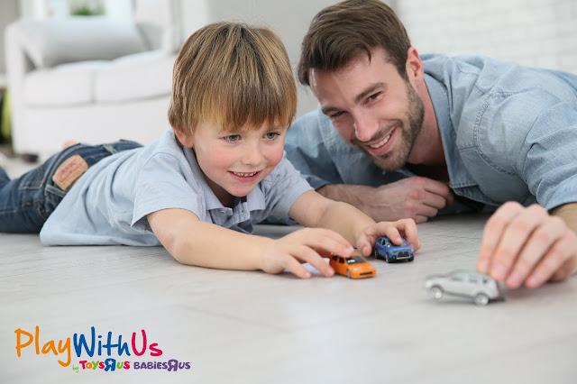 fête des pères avec les enfants