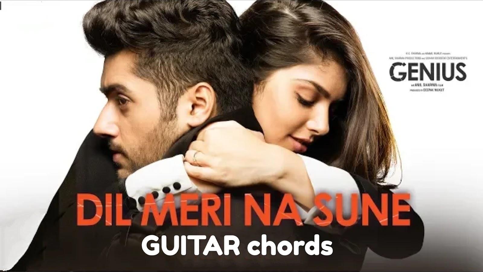 Dil Meri Na Sune Atif Aslam Genius Guitar Chords Tgtutorials