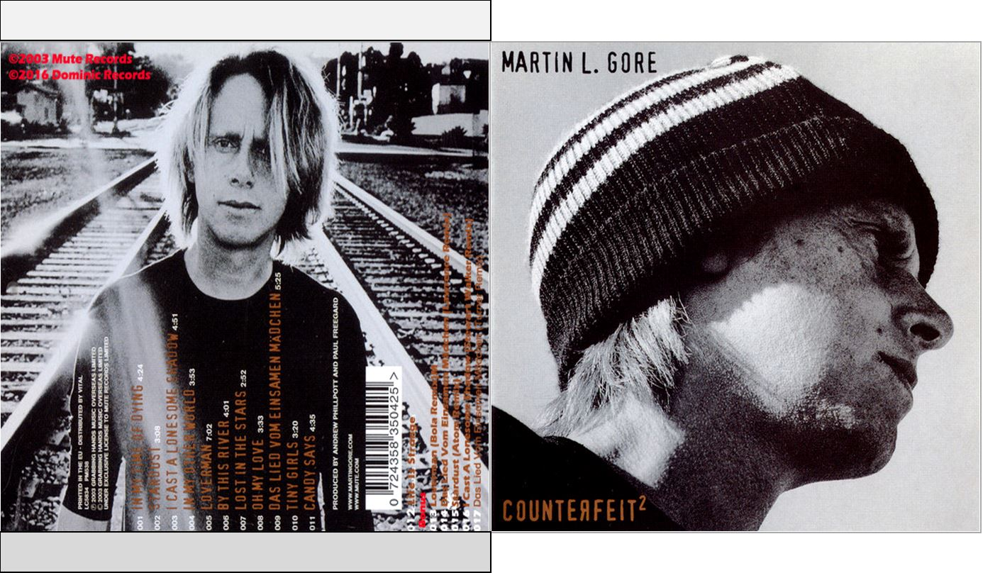 Musicollection Martin L Gore Counterfeit 2 Cdalbum 2003 2016 Candy says is a song written by lou reed. musicollection blogger