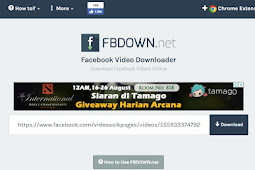 Cara Lengkap Download Video Di Facebook Untuk Android dan Laptop