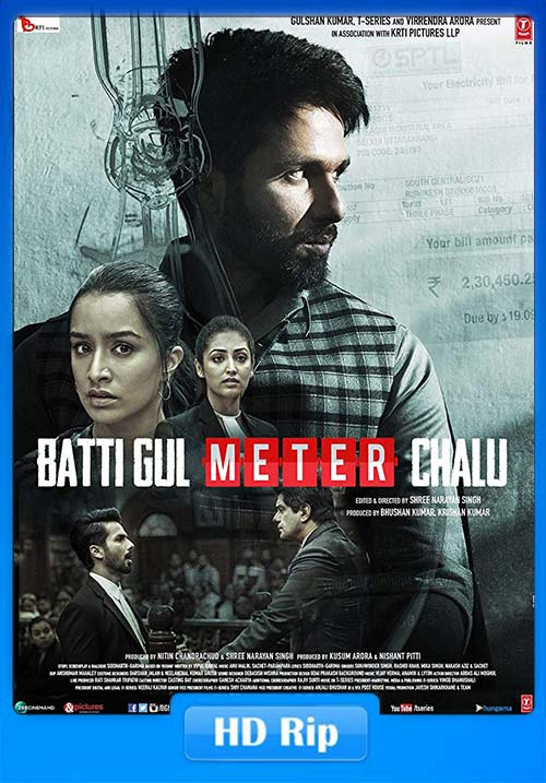 Batti Gul Meter Chalu 2018 Hindi HDRip 720p x264 | 480p 300MB | 100MB HEVC
