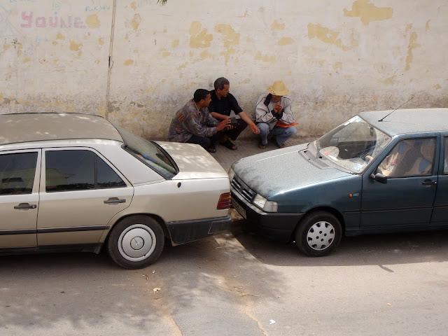 Wszystkie parkingi w Maroku są strzeżone. My tego dopilnujemy