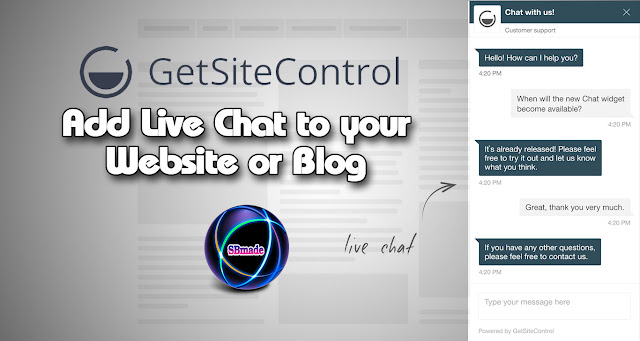 How to Add Live Chat to your Website or Blog