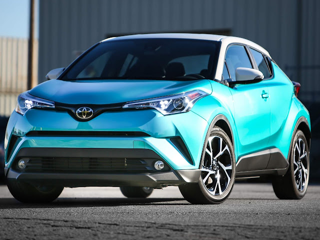 Toyota C-HR - concorrente do Honda HR-V