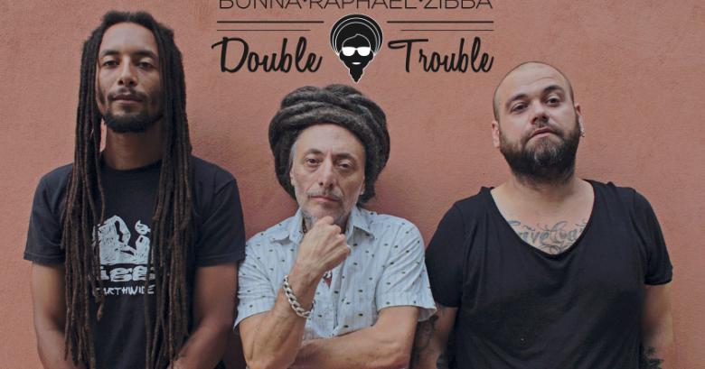 Double Trouble, progetto per Raphael, Zibba e Bunna nel segno di Marley