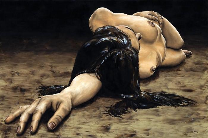 Художник из Великобритании. Richard Young 13