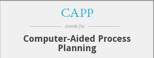 What do you mean by computer aided process planning?
