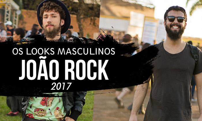 Looks Masculinos João Rock 2017