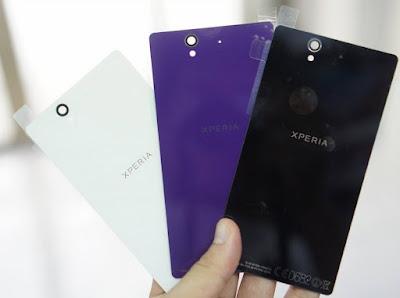 Thay mat kinh sau Sony Z2