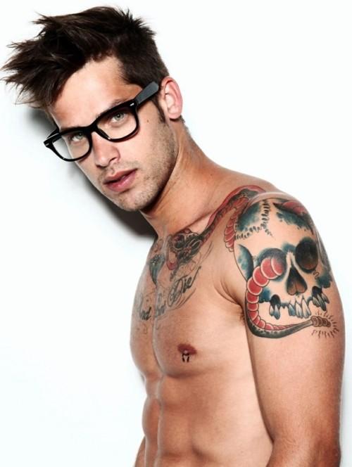 Tattoos For Men On Back Shoulder
