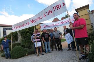 beaux-vin blog actualité vin beaujolais manifestation