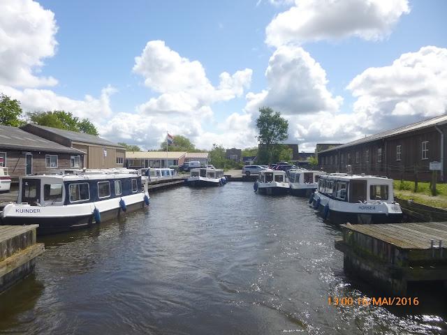 in Koudum bei unserem Yachtcharter Friesland Boating