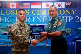Waasops Panglima TNI tutup Latma Pacific Partnership 2016 di Padang