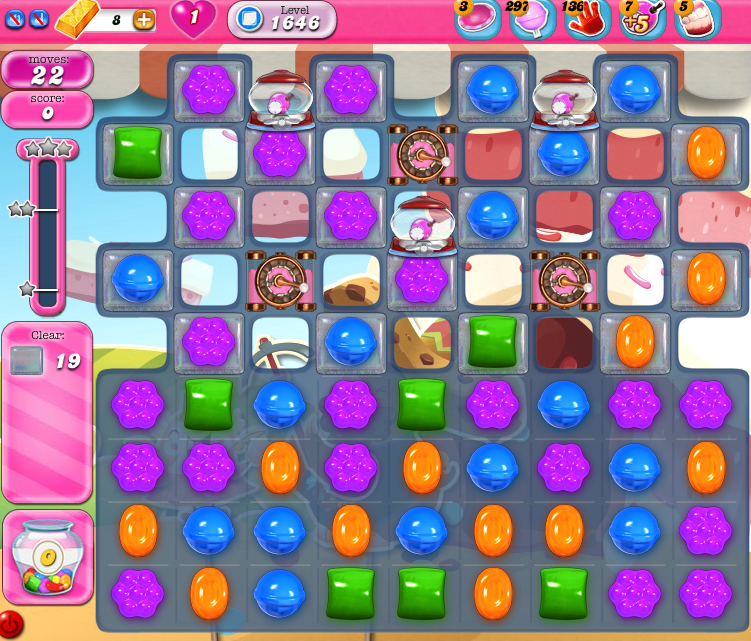 Candy Crush Saga 1646