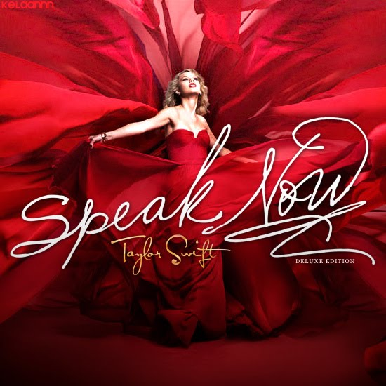 Taylor Swift Speak Now Deluxe Edition Album Cover