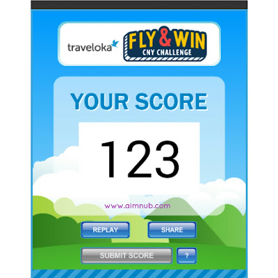 high score, mini games, traveloka, internet games, online games, win ticket to Seoul Korea