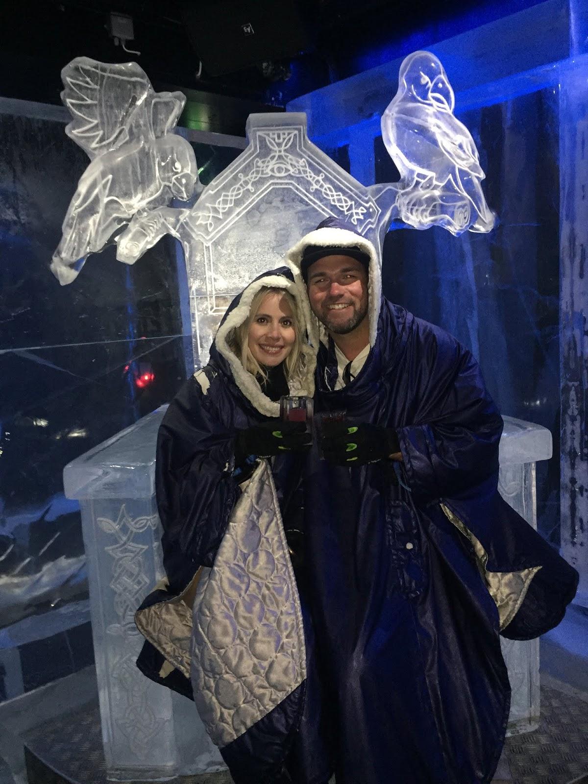 Bar de Gelo em Estocolmo na Suécia