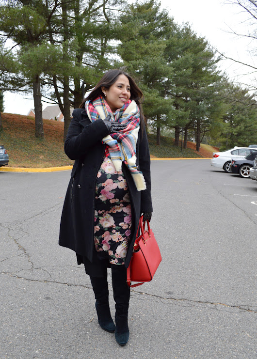 Maternity Winter Floral