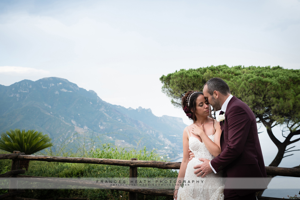 Sea view wedding in Ravello