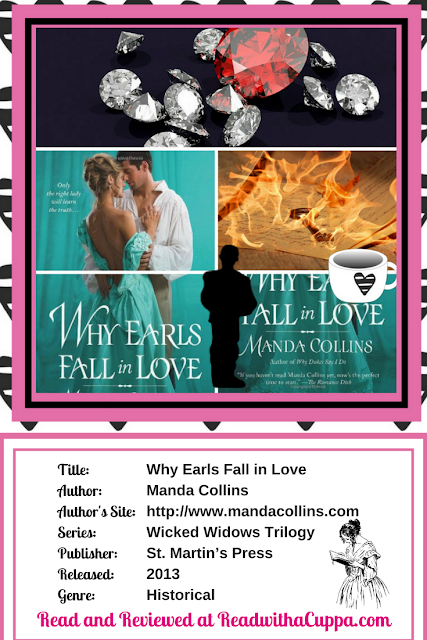 Read the book review for Why Earls Fall in Love by Manda Collins at https://www.readwithacuppa.com/2018/07/book-review-why-earls-fall-in-love.html