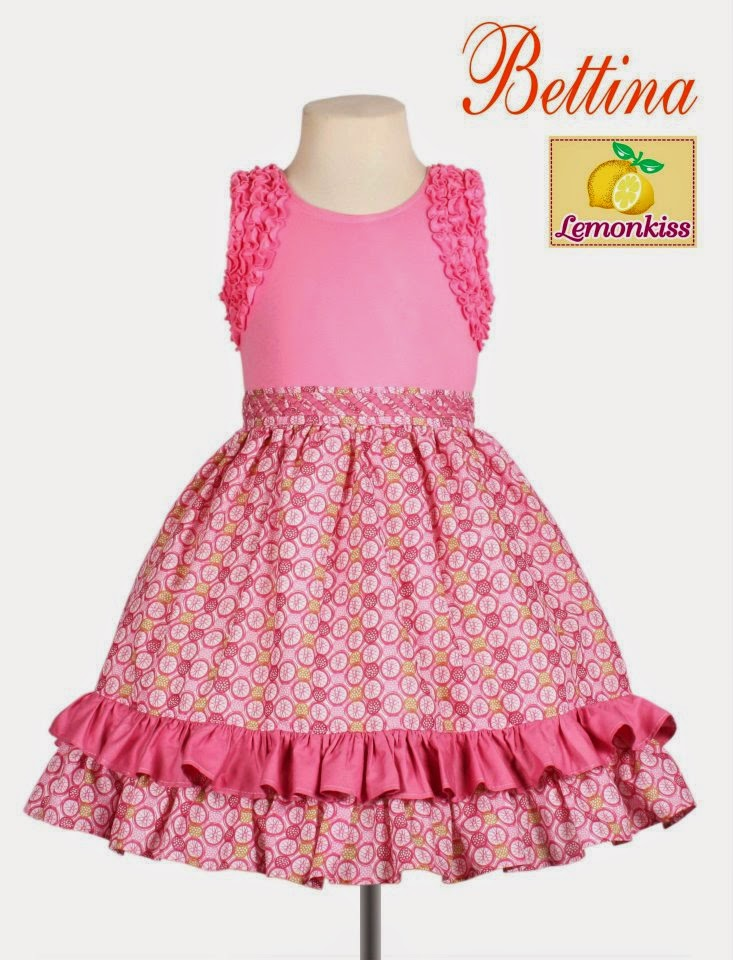 Lemon Kiss; Perfect for Little Girl's Latest #OOTDs