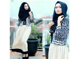 model baju muslim kantor