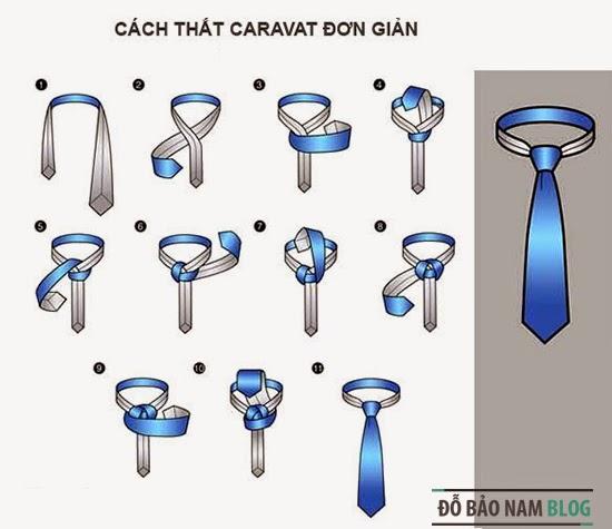 Cách thắt cà vạt đơn giản nhất và thanh thoát