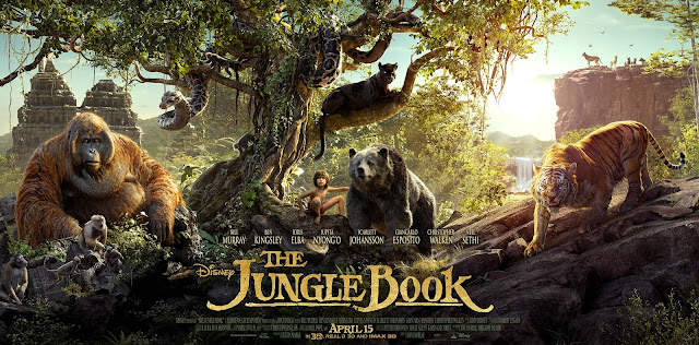 The Jungle Book, Movie Poster, John Favreau