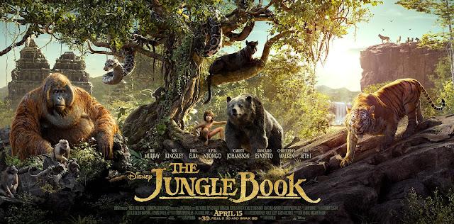 The Jungle Book, Movie Poster, John Favreau