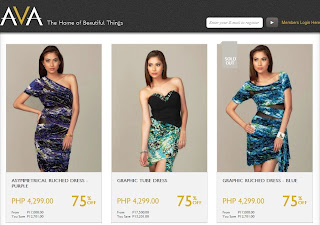 Manila Shopper: Membership Shopping Websites: Brandsfever & AVA