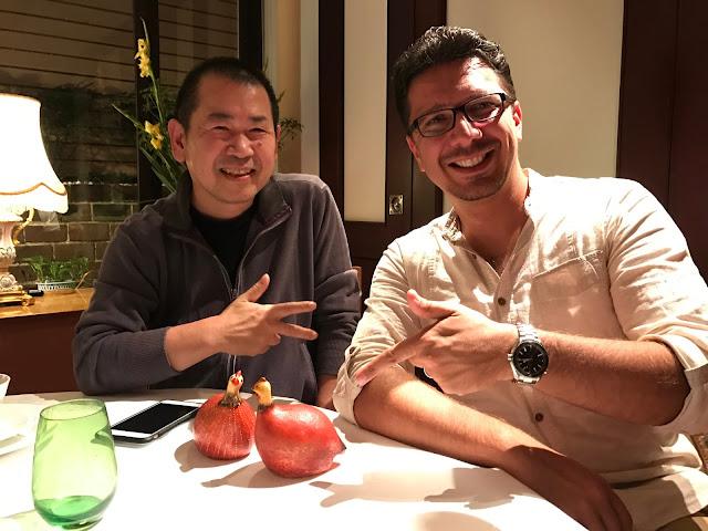 Yu Suzuki with CédricBiscay