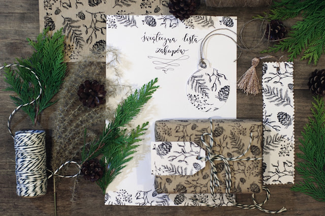 Świąteczna papeteria do pobrania dla wszystkich, którzy chcą na Boże Narodzenie wysłać prawdziwy list. Pobierz i uwolnij kreatywność na Boże Narodzenie. Tylko na www.any-blog.pl