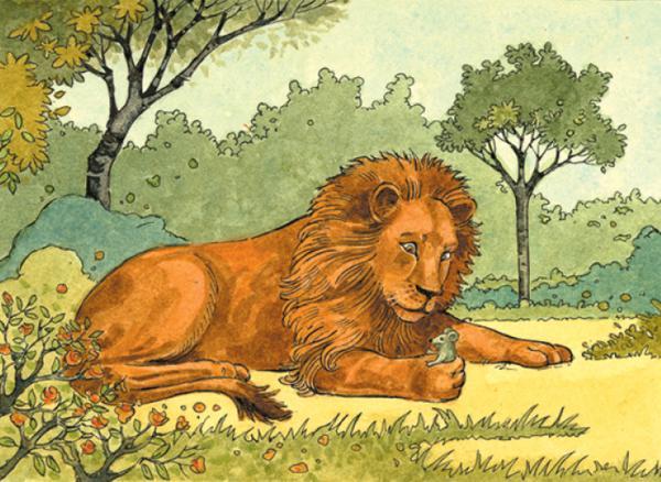 kumpulan cerita anak paud: singa & tikus