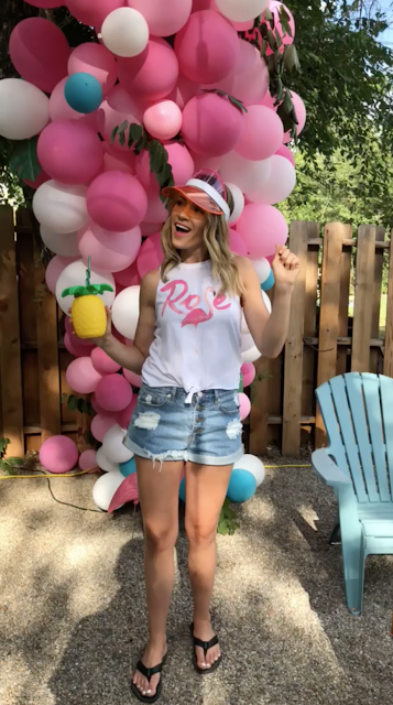 what to wear to a flamingo party