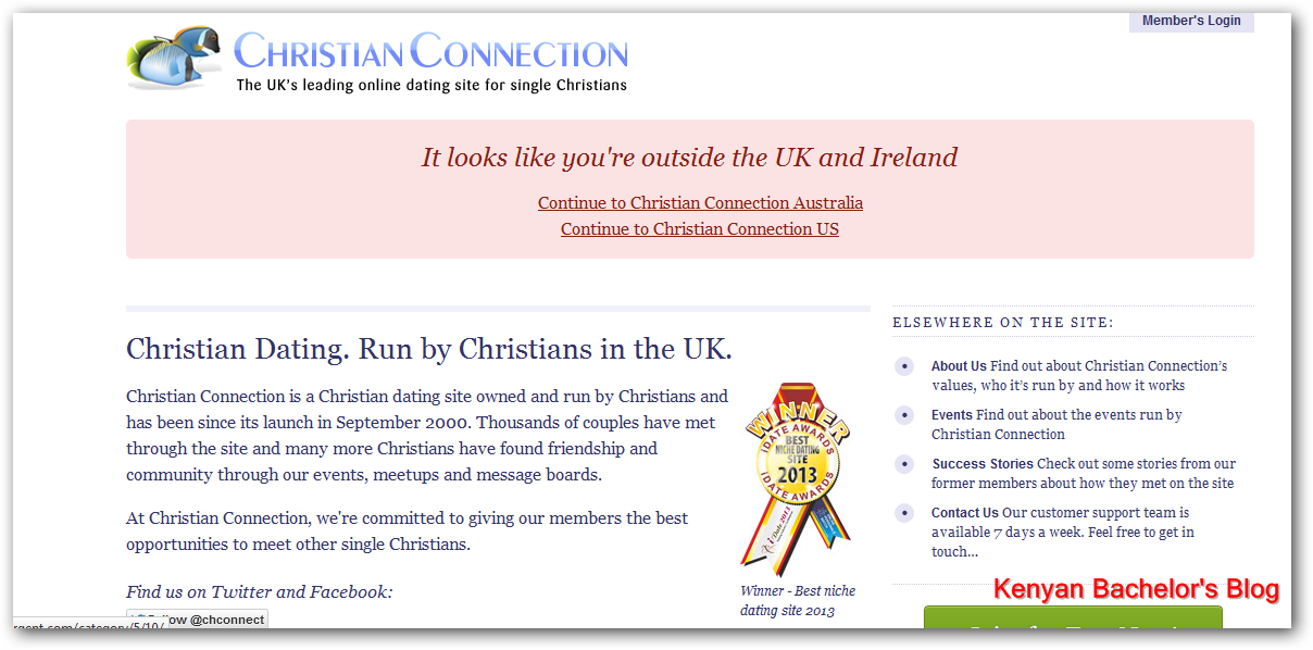 Online dating christian singles