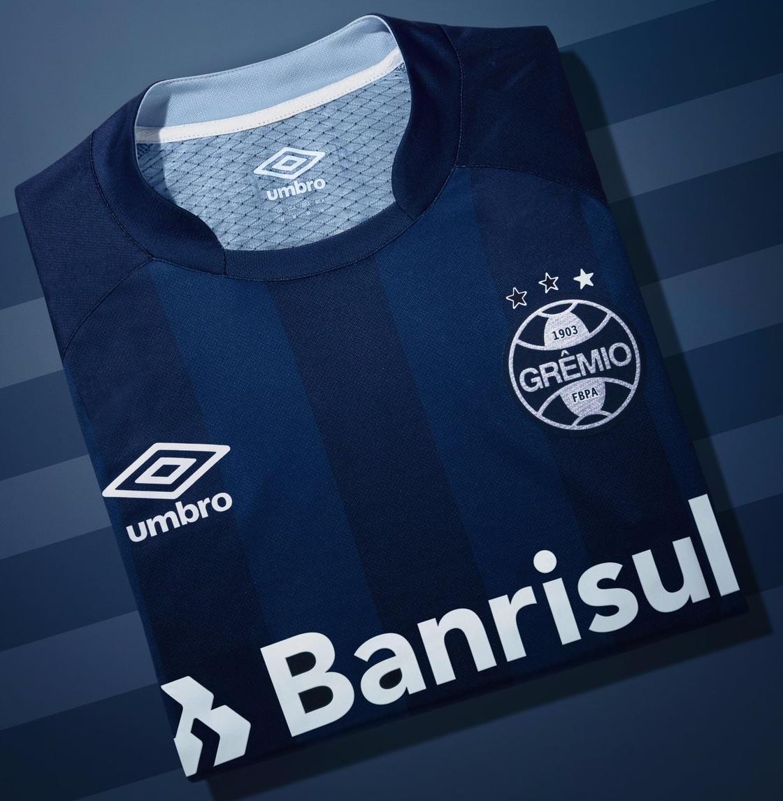 159deafbe9cb4 Nova terceira camisa do Grêmio é sucesso de vendas - Show de Camisas