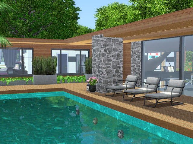 Construction Sims 3 moderne