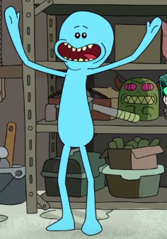 Image result for mr meeseeks