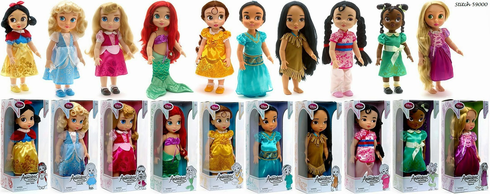 My Toys: Disney Animators' Collection Dolls