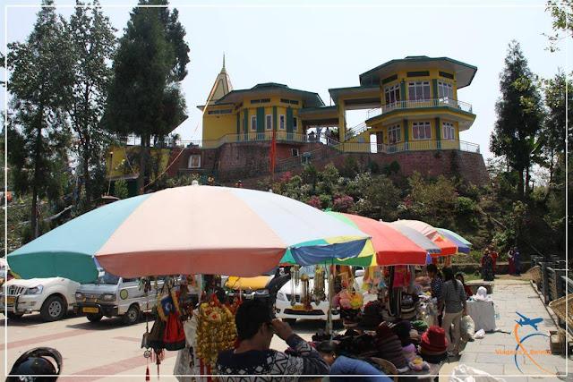 Ganesh Tok - Templo de adoração ao Deus Hindu Ganesha, em Gangtok