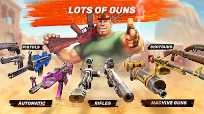 Tampilan Game Guns of Boom Android