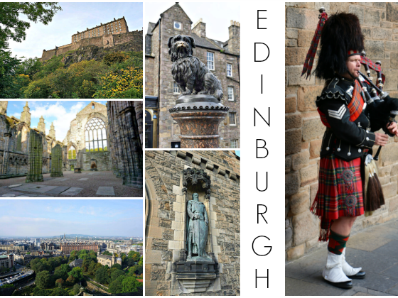 One Day in Edinburgh, Scotland