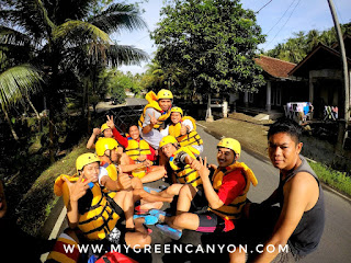 transportasi angkutan pick up body rafting