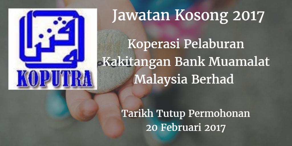 Jawatan Kosong Koperasi Pelaburan Kakitangan Bank Muamalat Malaysia Berhad 20 Februari 2017