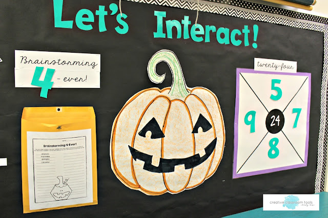 interactive bulletin board activities