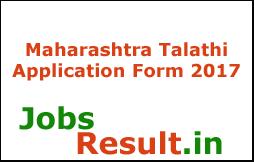 Maharashtra Talathi Application Form 2017