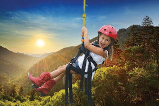 Ziplining - aerial fun for all ages