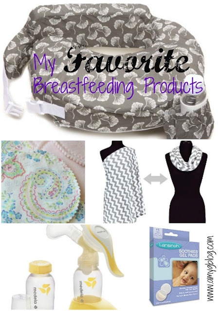These must have breastfeeding products are actual products that I used to help make my first year of breastfeeding successful!