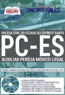 Download Apostila Concurso PC ES 2019 PDF
